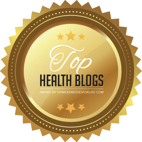 Awarded for The Top Health Blogs of 2017