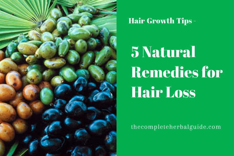 5 Natural Remedies for Hair Loss