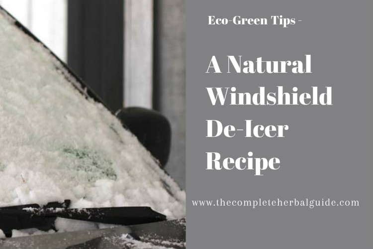 A Natural Windshield De-Icer Recipe