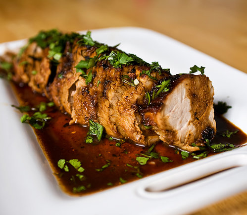 Chipotle-Marinated Pork Tenderloin