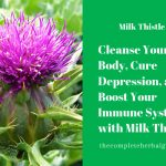 Cleanse Your Body, Cure Depression, and Boost Your Immune System with Milk Thistle