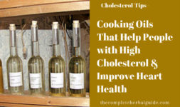 Cooking Oils That Help People with High Cholesterol & Improve Heart health