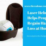Laser Helmet Helps People Regain Hair Loss at Home