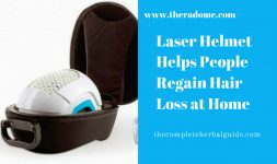 Laser Helmet Helps People Regain Hair Loss at Home