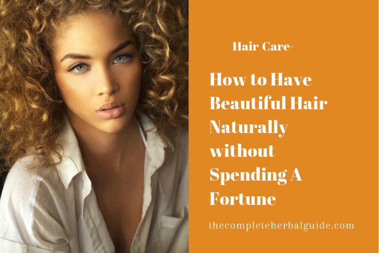 How to Have Beautiful Hair Naturally without Spending A Fortune