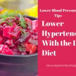 Lower Hypertension With the Dash Diet