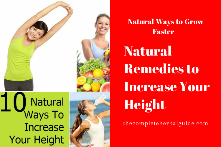 Natural Remedies to Increase Your Height