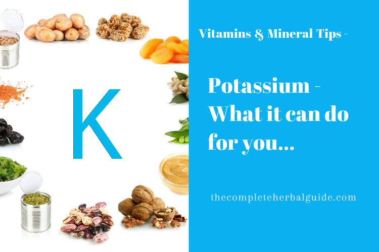 Potassium - What it can do for you...