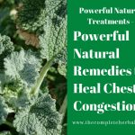 Powerful Natural Remedies to Heal Chest Congestion