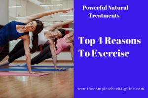 Top 4 Reasons To Exercise