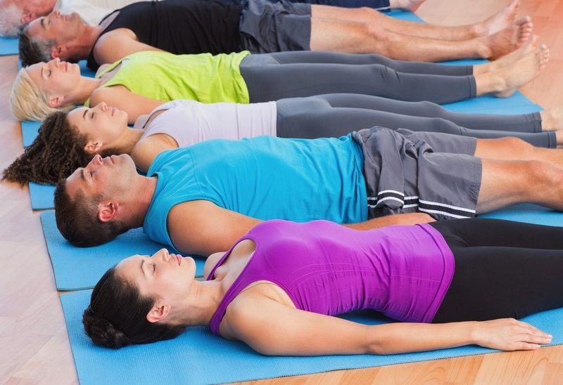 deep relaxation yoga