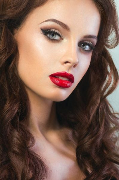 lipstick face