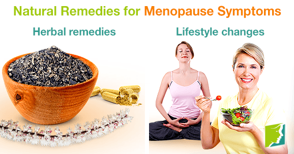 Natural Menopause Relief Remedies And Herbal Supplements