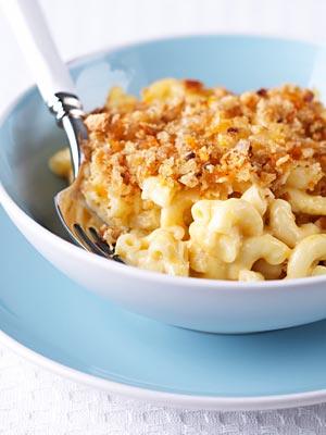 high cholesterol, macaroni and cheese
