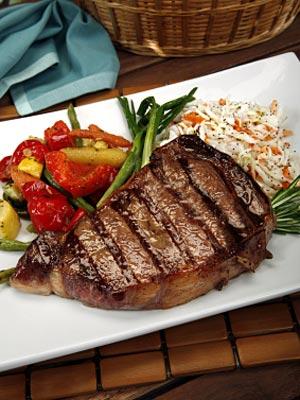 high cholesterol, steak