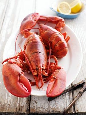 high cholesterol, seafood