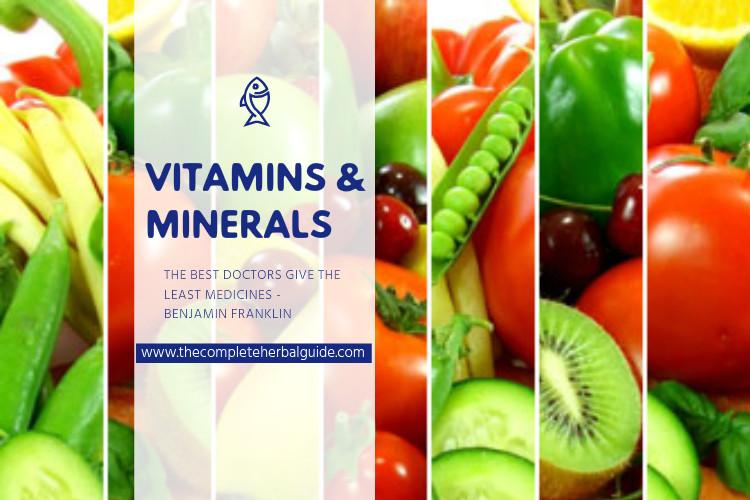 vitamin & mineral banner