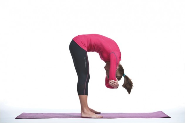 Yoga Exercises: Standing Forward Bend Yoga Poses for ...