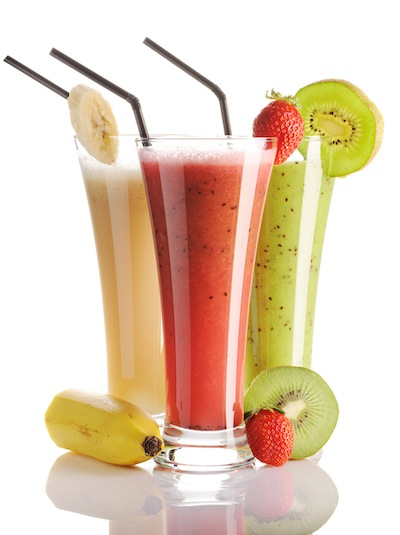 Secretly Sugary Smoothies Americans consume an average of 22 teaspoons of sugar per day—roughly three times the recommended amount. Most come from hidden sources of sugar, and one of the biggest culprits is smoothies. But it's not the natural sugar found in fruit that's the problem. Store-bought bottled smoothie versions or made-to-order options from chains may include juice, frozen yogurt, or even sherbet in the recipes, all of which are packed with added sugar. If you're making them at home and using only good-for-you ingredients like unsweetened nut milk or yogurt, you're safe from the sugar bomb.