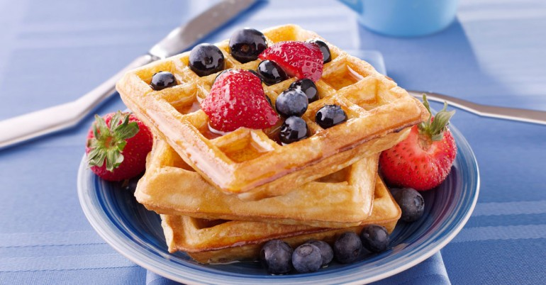 Whole-Wheat-Coconut-Oil-Waffles-770x402