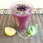 Wild-Blueberry-Lemon-Basil-Smoothie
