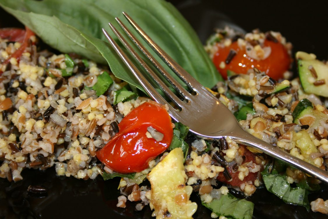 Mediterranean-Medley-of-Grains-and-Grilled-Vegetable-Salad