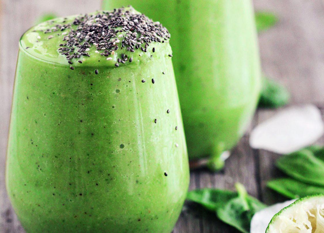 avocado-kiwi-green-smoothie