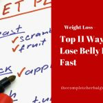 Top 11 Ways to Lose Belly Fat Fast