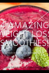 4 Amazing Weight Loss Smoothie