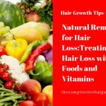 Natural Remedies for Hair Loss:Treating Hair Loss with Foods and Vitamins