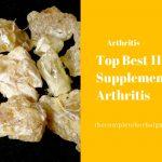 Top Best 11 Supplements for Arthritis