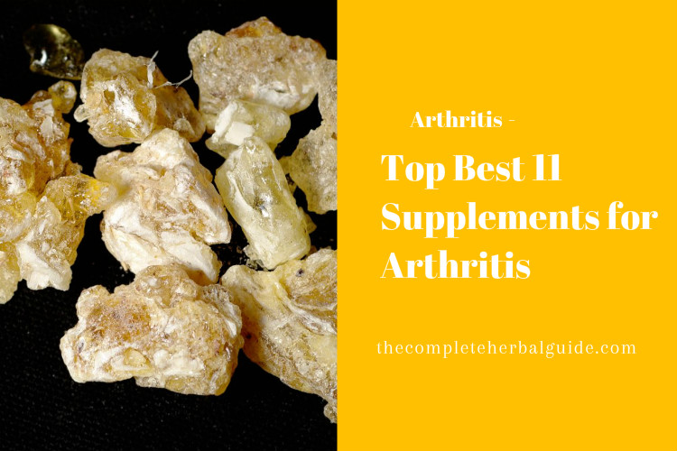 Top Best 11 Supplements for Arthritis