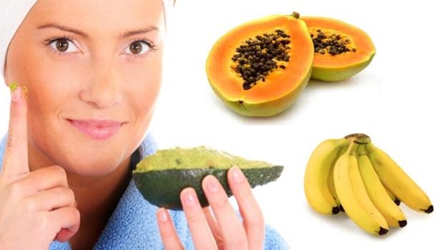 papaya-avocado-banana-face-mask