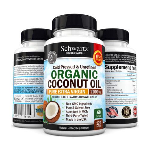Schwartz Bioresearch Organic Coconut Oil