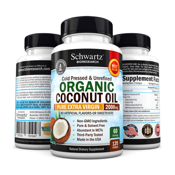 Schwartz Bioresearch Organic Coconut Oil
