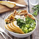 Grilled-Chicken-Arugula-and-Pear-Salad