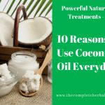 10 Reasons to Use Coconut Oil Everyday