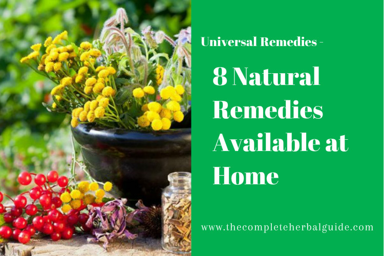 8 Natural Remedies Available at Home