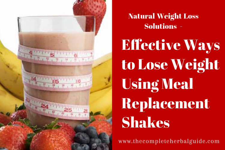 Effective Ways to Lose Weight Using Meal Replacement Shakes
