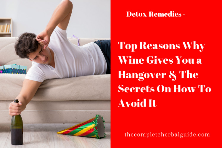 Top Reasons Why Wine Gives You a Hangover & The Secrets On How To Avoid It