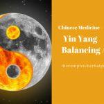 Chinese Medicine: Yin Yang Balancing Act