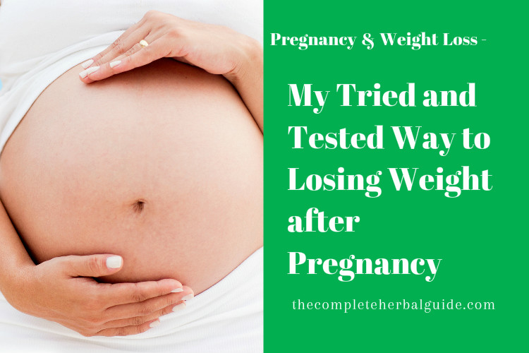 My Tried and Tested Way to Losing Weight after Pregnancy