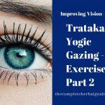 Trataka or Yogic Gazing - Eye Exercises Part 2