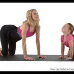 yoga tabletop pose