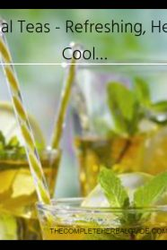 Iced Herbal Teas - Refreshing, Healthy and Cool…