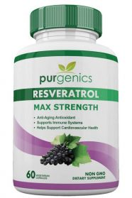 Purgenics Resveratrol Maximum Strength