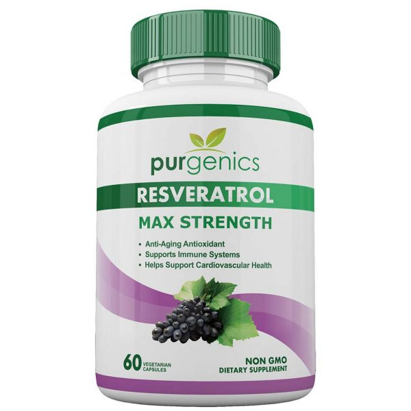 Purgenics Resveratrol Maximum Strength