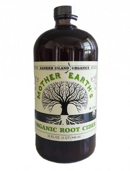 MOTHER'S EARTH'S ORGANIC ROOT CIDER
