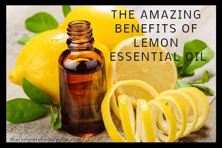 THE AMAZING BENEFITS OF LEMON ESSENTIAL OIL