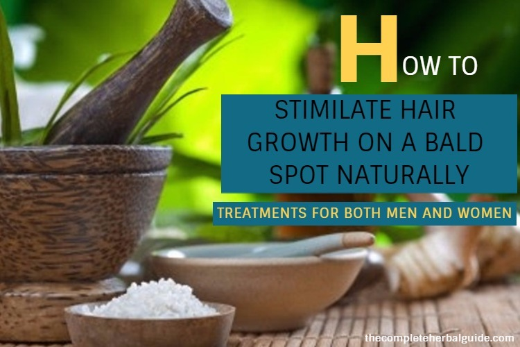 HOW TO GROW HAIR GROWTH ON A BALD SPOT NATURALLY